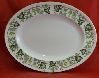 Bone China Santa Clara Vintage China English Country Vintage Wedgwood Plate Green Grapes and Leaves Vintage Gift Farmhouse C England