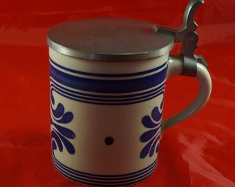Rosenthal Studio Line Tankard with Blue Design