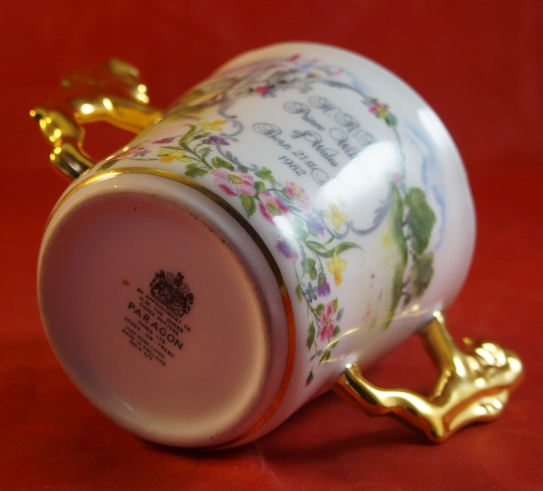 Paragon Loving Cup for Birth of HRH Prince William 1982