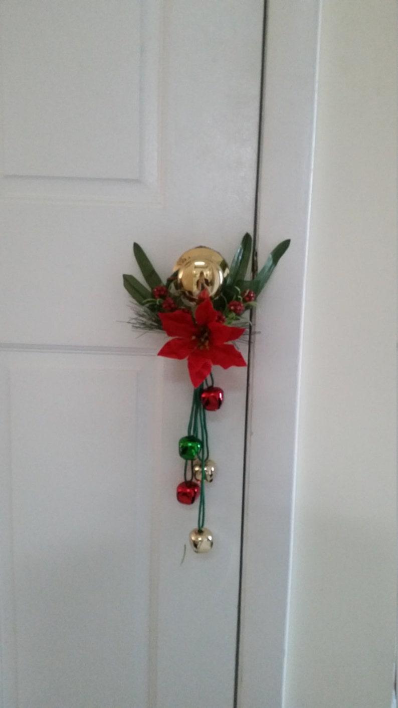 Christmas Doorknob Hanger Etsy