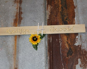 Custom Monogram Wedding Sign - Bride and Groom Sign - Wedding Sign Monogram - Wedding Gift Idea - Wedding Decor