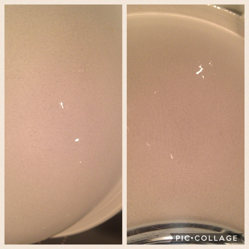 Set of 3 Pyrex White Clear Bottom Bowls 323 #322 325
