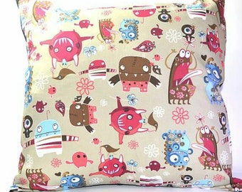 Little monster cushion size 18 x 18 inner included