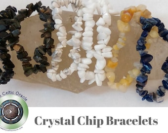 SPECIAL OFFER - 5 Mix and Match Crystal Chip Bracelets