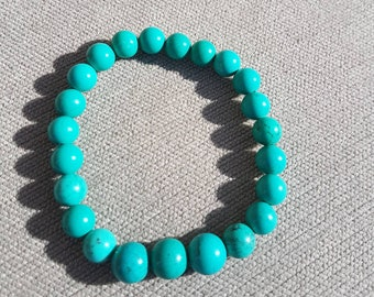 Turquoise Crystal Bracelet Protection Reiki
