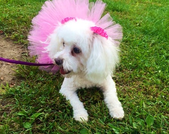Pink Tutu For PetsPink Bulldog TutuPink Tutu For Dogs