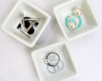 Mini Jewelry Ring Dish