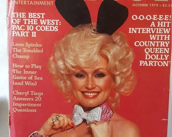 Vintage Playboy Magazine October 1978