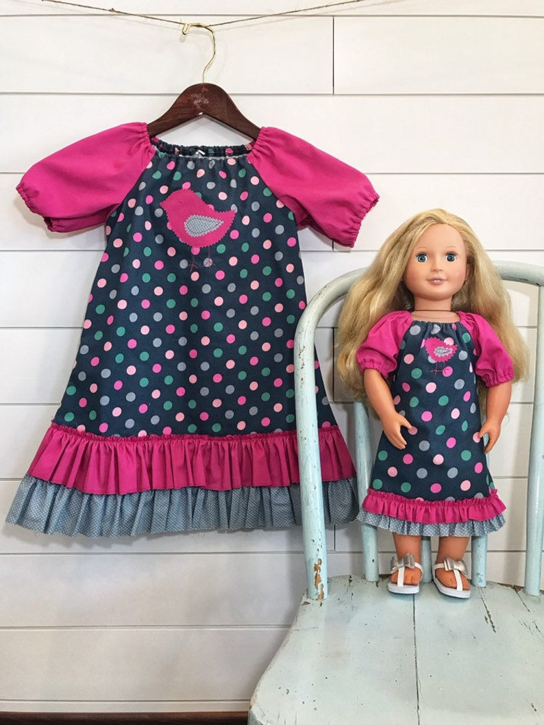 653750c462 Dolly And Me Cute Matching Outfit For Girls Size 4-5 | Etsy
