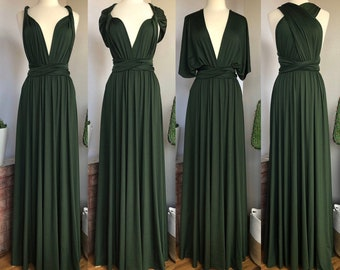 Green Wedding Dress Etsy