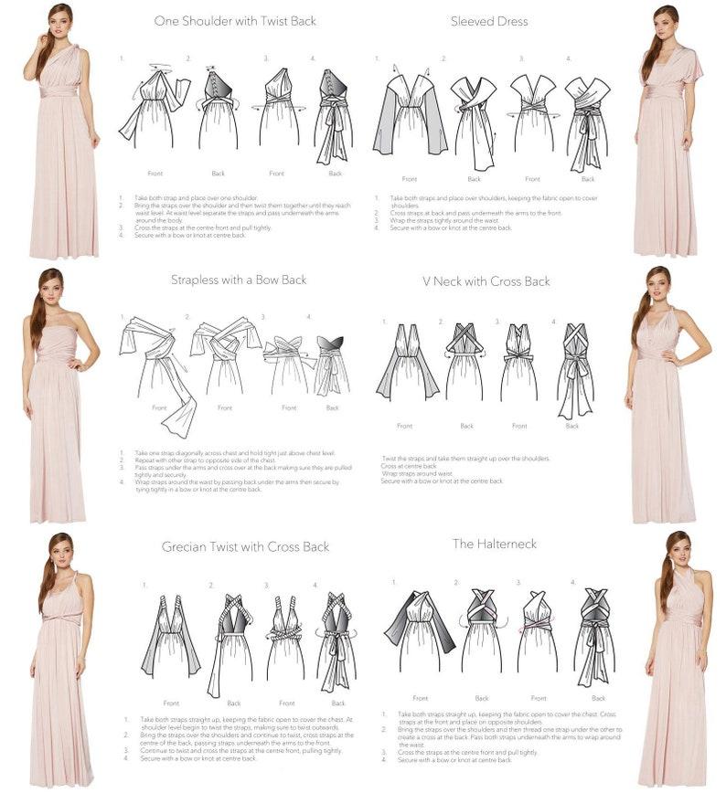 ICE BLUE VELVET Infinity Dress Bridesmaids Dress Convertible Dress  Multiway Dress Multiway Wrap Dress  Velvet Bridesmaids Dress