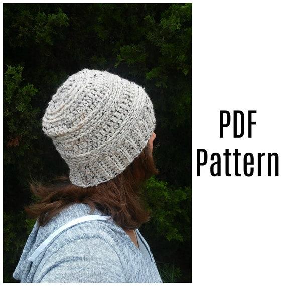 Bella Beanie Crochet Pattern Crochet Pdf Pattern Crochet Hat Etsy