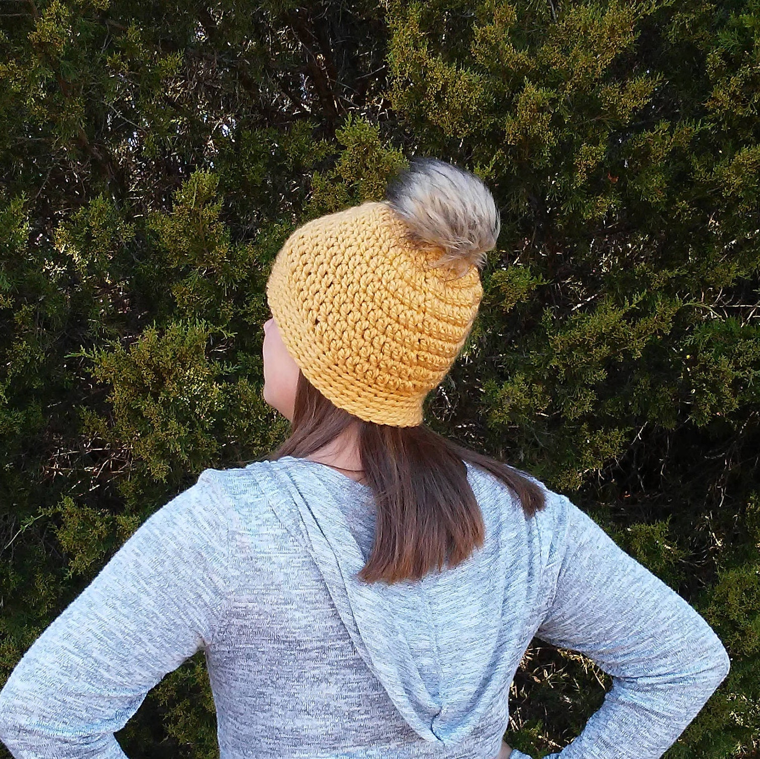 Womens Crochet Hat Mustard Hat Womens Mustard Hat Womens  1947ca74741
