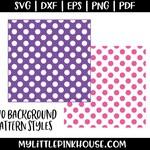 Background SVG, Pattern SVG, Polka Dot SVG, svg files, silhouette portrait, silhouette designs, silhouette svg, silhouette files, cricut svg