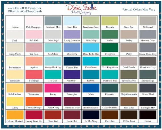 Shabby Chic Paint Colors, umweltfreundliche Farbe, Wasserbasis Farbe,  Bauernhaus, Dixie Belle Chalk Paint