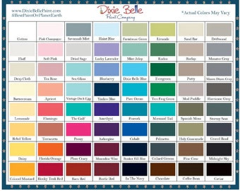 Dixie Belle Chalk Paint, Environmentally Friendly Paint, Water Base Paint, Farmhouse, Shabby Chic Paint Colors