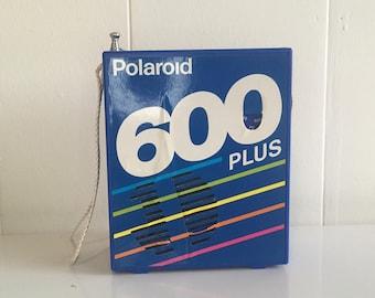 Vintage Polaroid 600 Plus Radio Camera Plastic Portable Instant Film Believe in Film Polaroid Originals