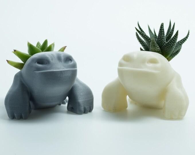 Gojira - half-gorilla, half-whale succulent planter