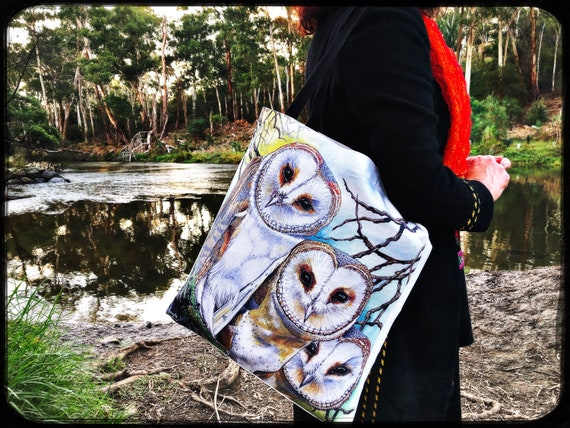 Barn Owl Organic Cotton Tote