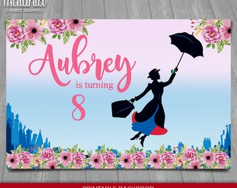 Vinyl Decorated Scrap Book Photo Albtum Mary Poppins Practically Perfect