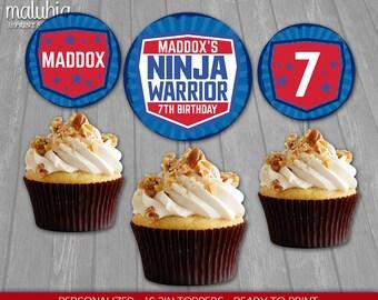 Ninja Cupcake Etsy