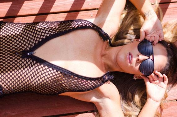18faeae8dd Womens sexy sheer mesh bodysuit and Sexy sheer mesh bondage