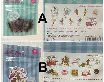 Amifa Flake Stickers