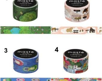 Various Maste Masking Tapes