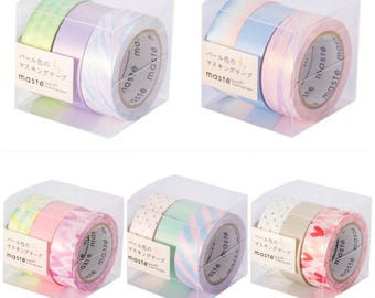 Pearl-Color Masking Tape Set by Maste