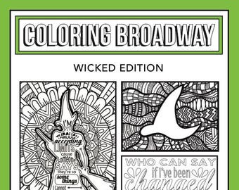 coloring pages broadway musicals - photo#10