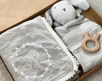 BOX Small blanket cotton gas and custom rabbit