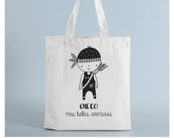 Tote bag little Indian