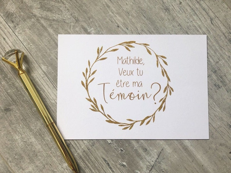 Card asks for golden crown temoin image 0