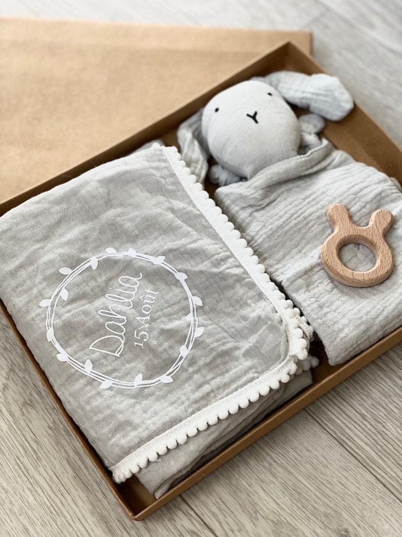 BOX Small blanket cotton gas and custom rabbit image 0