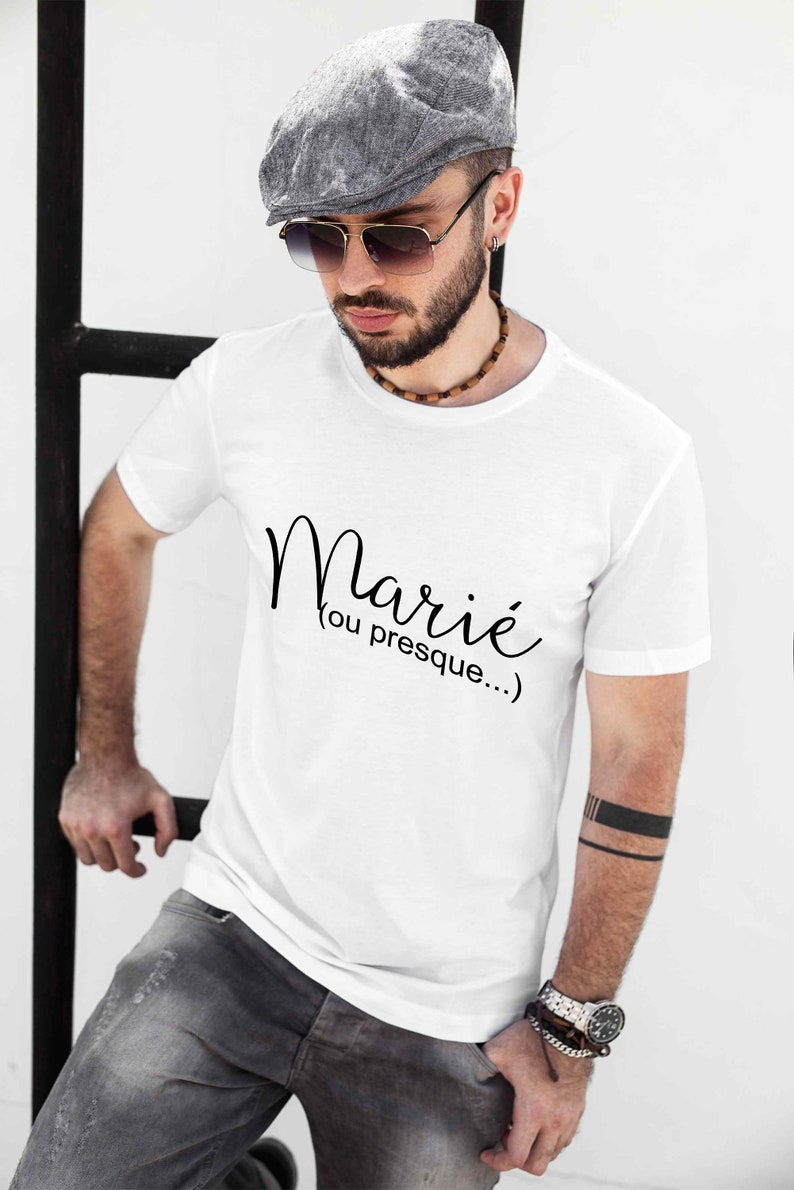 T-shirt groom or almost image 0