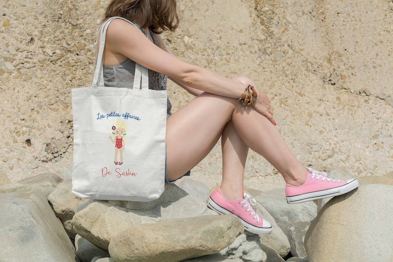 Tote bag PLAGE visual to choose from image 0