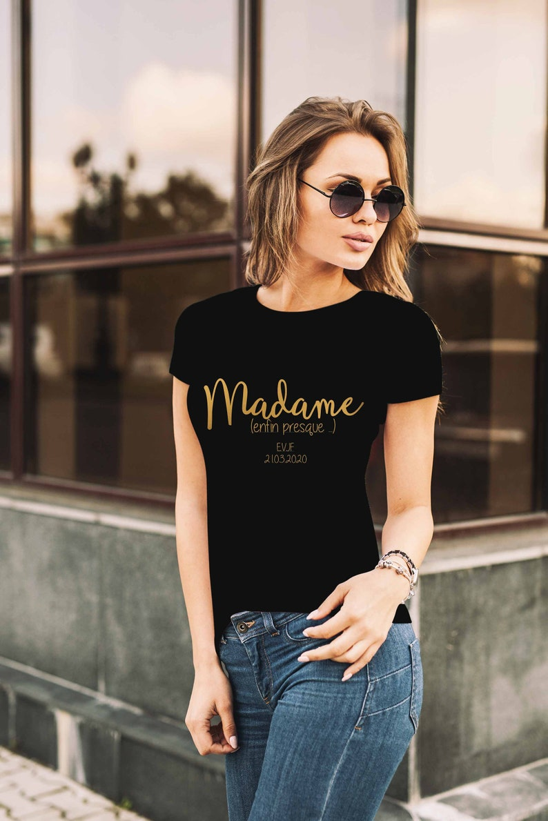 EvJF Madame T-shirt or almost image 0