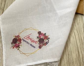 handkerchief custom fabric super granny customizable