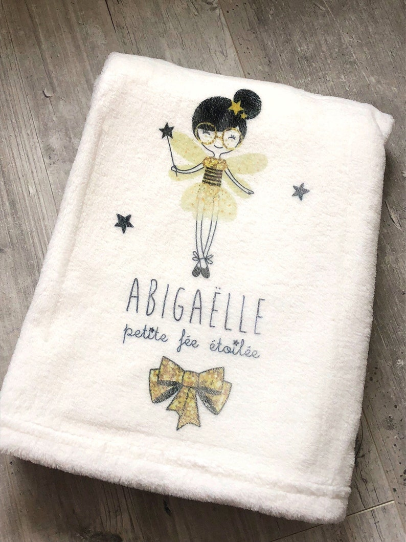 personalized baby blanket image 0