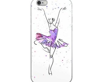 iPhone Case ballerina, watercolor dancer