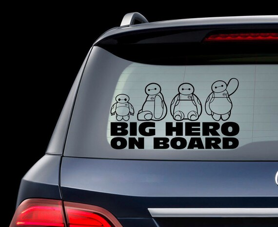 Baby on Board Disney Car Window Glass Sticker Vinyl Decal Child Van Sign