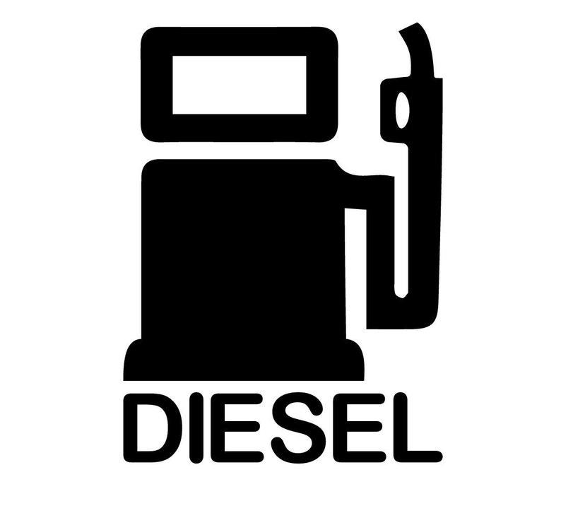 12ab8def974 Diesel Car Decal Diesel Sticker For Car Window Vinyl Bumper