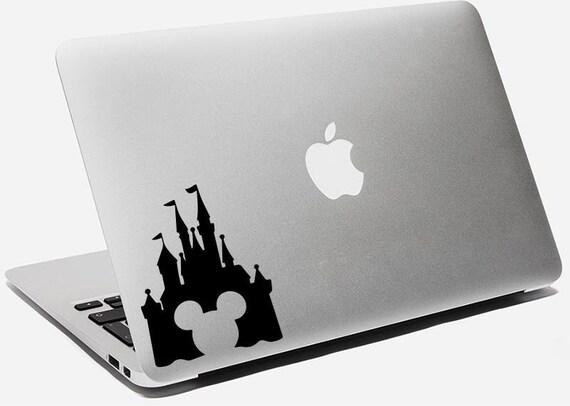 Eaten Apple Logo Decal Macbook Air Pro Decal Apple Sticker Whole Apple Laptop Vinyl Decal Sticker
