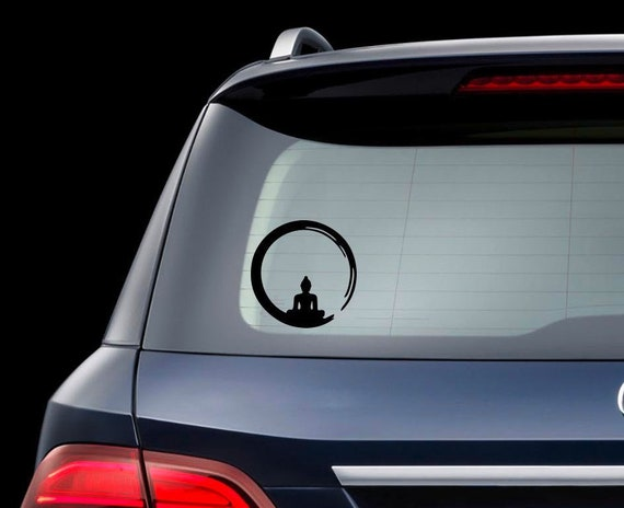 Buddha Auto Aufkleber Yoga Sticker Dekor Mantra Meditation Buddha Vinyl Aufkleber Buddha Autoaufkleber