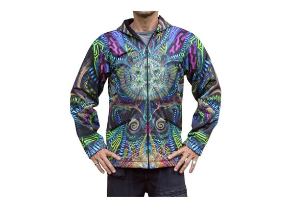 Double Sided Hoodie Psychedelic