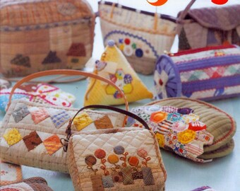 Quilts applique patterns sewing bags japan japanese craft etsy