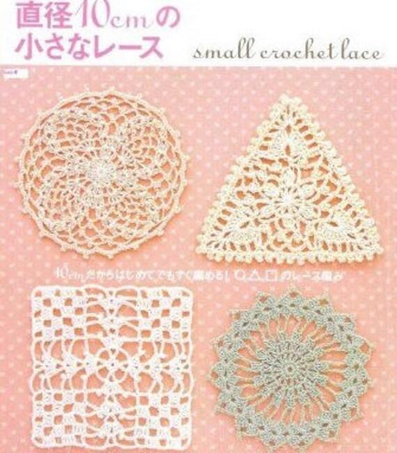 Crochet Motifs Book Crochet Japanese Irish Crochet Patterns Etsy