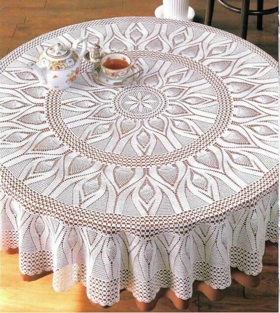 Elegant Pineapple Crochet Lace Pattern Crochet Lace Crochet Doily