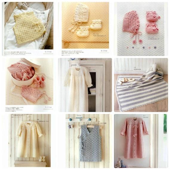 Baby Crochet Ebook Japanese Craft Pdf Crochet Cute Pattern Etsy