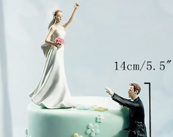Funny Wedding Cake Topper Etsy